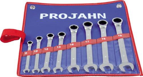 Projahn Forets Set 19-tlg HSS-R DIN 338 Type N Ø 1-10 mm 60001 en tôle métal