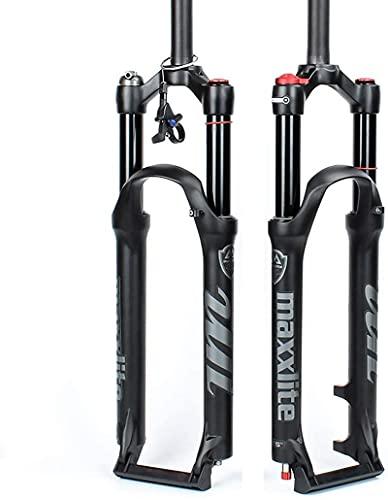 NBMNN Forcella Ammortizzata MTB, 26 Pollici Sospensione Mountain Bike Forcella Anteriore Forcella Ammortizzata, Corsa Ammortizzatore: 120mm
