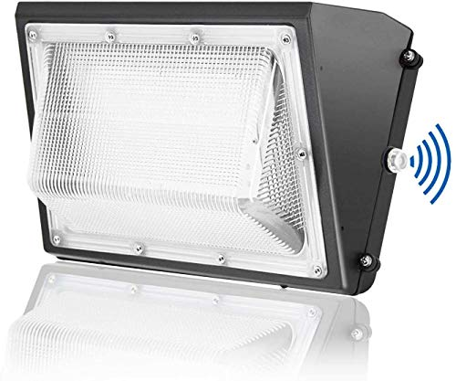 150W LED Wall Pack Light with Dusk-to-Dawn Photocell, 5000K Daylight, 19200lm, JESLED Outdoor Waterproof Security Light Fixture,600-1000W HPS/HID Replacement,Industrial Residential Commercial Lighting