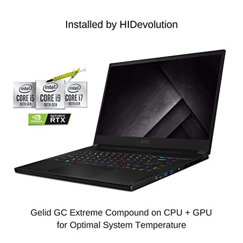 [2021] HIDevolution MSI GS66 Stealth 10UG 15.6