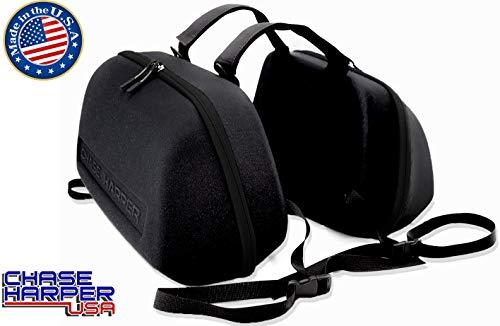 Chase Harper USA 3100MCM Black Stealth Saddle Bag - 36.5 Liters