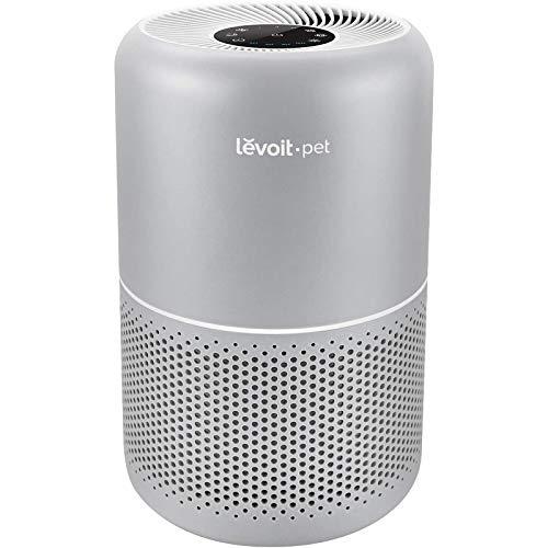 Levoit Luftreiniger Luftfilter Allergie Tierhaar, Air Purifier für Wohung Racuherzimmer bis zu 40㎡, 24dB leiser mit Timer Schlafmodus, H13 HEPA&Aktivkohlefilter gegen Tiergerüche Rauch Pollen Staub