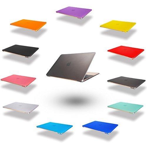 dizauL  elegante e leggera protezione ultra sottile Custodia macbook case cover coperchio protettivo duro caso notebook borsa guscio duro Custodia per 2015 Apple NEW MACBOOK 12 'grigio
