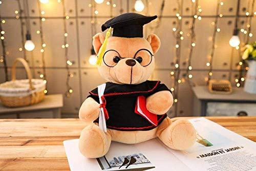 FGBV 1 stück 18-35 cm Dr. Bär Plüschtier Tool gefüllt Teddybär Tier Spielzeug for Kinder lustige Abschlussgeschenk for Kinder Home Decor-28cm_Brawn Manmiao