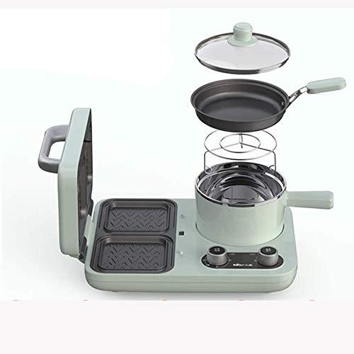 KLJUH Sándwich de Desayuno Máquina Máquina, multifunción Fabricante Sartén Mini Horno hogar del Pan Horno for Pizza sartén