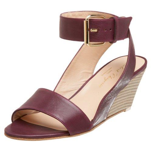 Robert Clergerie Women's Kalt Sandal,Plum Gloss,10.5 B