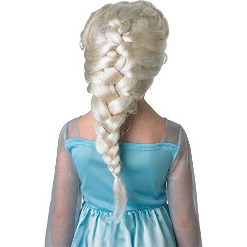 Rubie's - Déguisement Officiel - Disney - La Reine des Neiges - Perruque Enfant Elsa - PE935
