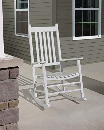 Jack-Post Knollwood Porch Rocker, White