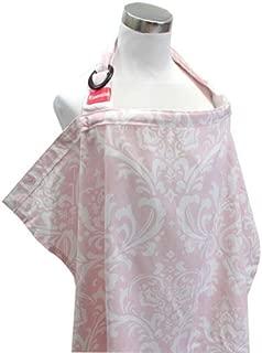 エスメラルダ 授乳カバー ピンクダマスク