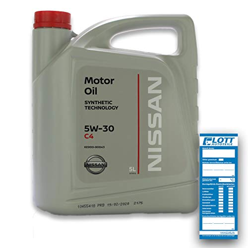 Nissan Motoröl 5W-30 DPF 5 L