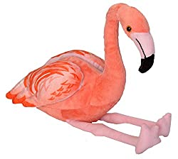 Stuffed flamingo to play Alice In Wonderland Croquet
