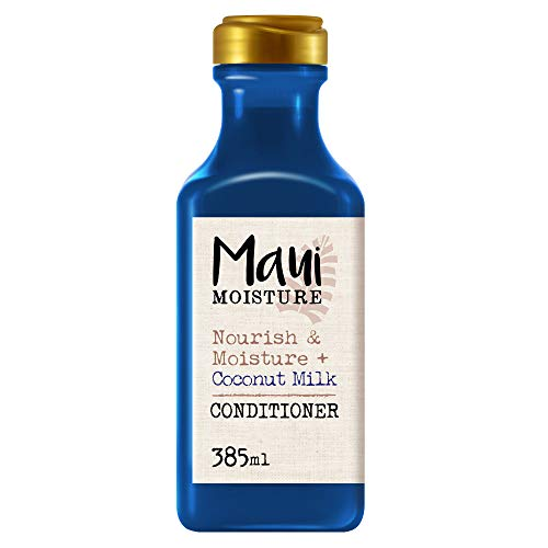 Maui Moisture, Acondicionador Nutre e Hidrata Leche De Coco, pelo Seco, 385 ml