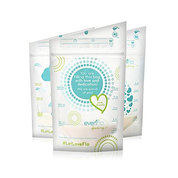 Evenflo Feeding Evenflo Feeding Advanced Breast Milk Storage Bags for Breastfeeding...