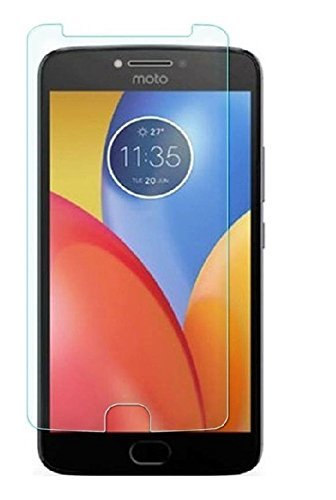 Karirap™ Top Quality ultra clear, 9H hardness,2.5D Curved, shatterproof, anti explosion, scratch free, bubble free, oil resistant, reduced fingerprint tempered glass screen protector glass for Motorola Moto E4 Plus
