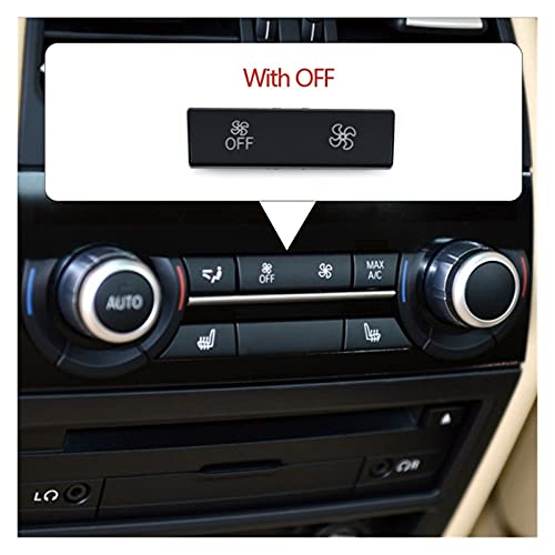 Huhu Botones de Aire de ventilación de ventilación Trasera del Coche CAPOS CAPOS Kit DE REPARACIÓN Ajuste para 5 5GT 6 7 Series F10 F11 F07 F01 F02 F12 F06 730 735 740