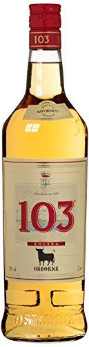 Bebida Espirituosa elaborada a base de Brandy 103 marca Osborne 30 % - 1 botella de 1L