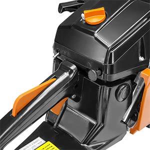 "XtremepowerUS 22"" inch 2.4HP 45cc Gasoline Gas 2-Stroke Chainsaw Cutting Wood Cutter Industry Engine Motor EPA, Orange"