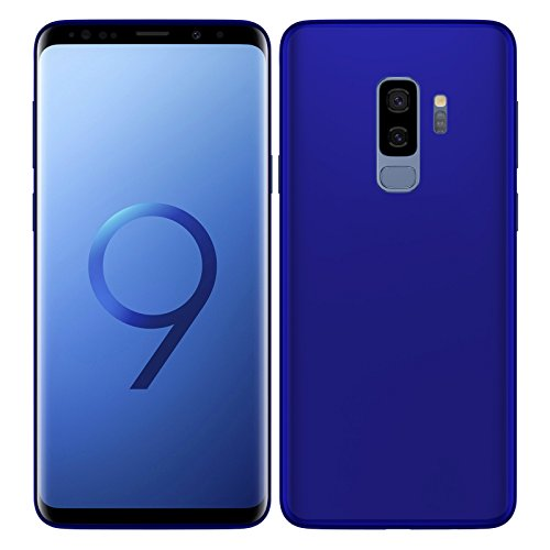 TBOC® Blau Gel TPU Hülle für Samsung Galaxy S9 Plus - S9+ (6.2 Zoll) Superdünn Flexibel Silikonhülle