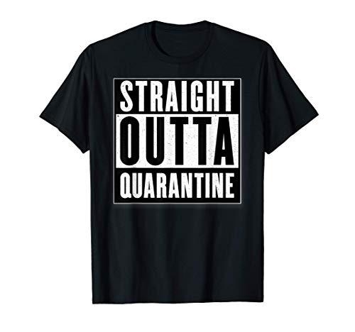 Adult & Kids Straight Outta Quarantine Lockdown T-Shirt