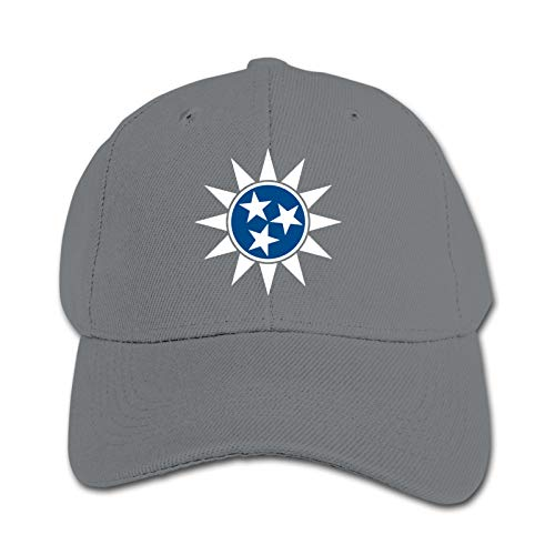 Tennessee Flag Unisex Kinder Mütze Sonnenhut Hip Hop Kappe Verstellbare Sportkappe Teen Hut Kinder Entenschnabel Kappe