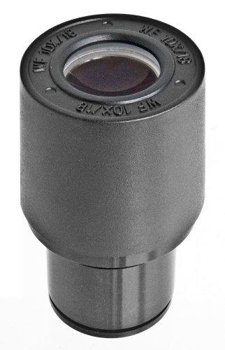Bresser Mikroskop Weitfeld Okular WF-10x mit Mikrometer-Skala zur Vermessung von Präparaten