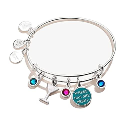 Alex and Ani Gossip Girl 'Where Has She Been' Multi-Charm Bangle Bracelet