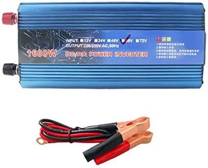 500W / 1600W / 1200W / 2200W Power Inverter, transformador de convertidor de cargador USB para camión vehículo RV Pickup DC 12V / 24V a AC 220V para smartphones Tablet Portátil Bomba de pechuga Nebuli