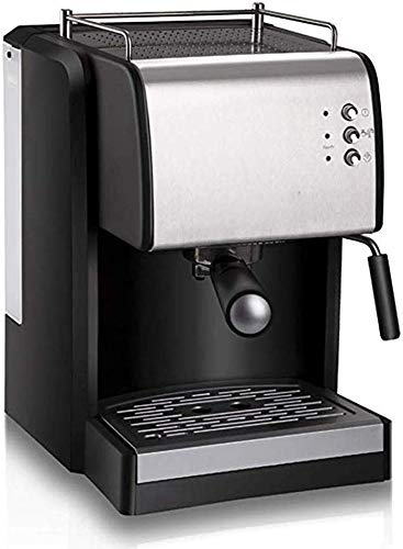 Semi-automático inteligente fabricante de café express de 15 bar de presión de vapor Adecuado for la Leche de café Máquinas de café recién molido con espuma Máquinas Cappuccino sistema de toma de Mini