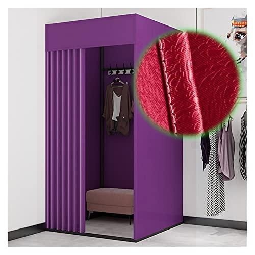BAIYING Vestuario Vestuario, Vestuario Movible Pantalla De Tienda De Partición De Privacidad, Tasa De Sombreado 99% para Tienda De Ropa, Tienda De Ropa para Mujeres