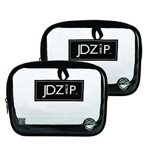 JDZip TSA aprobó 3-1-1 bolsa transparente de mano para hombre