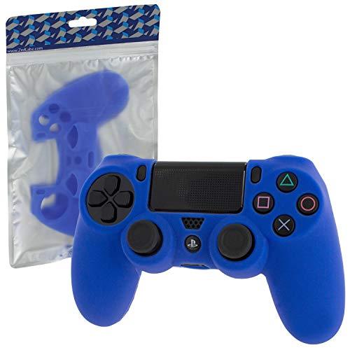 Assecure Custodia in Silicone per Controller Sony PS4con Maniglia gommata