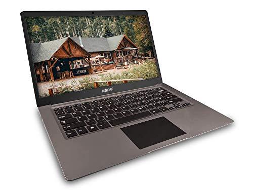 Product Image 1: Fusion5 14.1inch A90B+ Pro 64GB Windows 10 Laptop – 4GB RAM, 64GB Storage, Full HD IPS, Bluetooth, 2MP Webcam, Dual Band WiFi Laptop