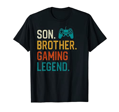 Gaming Gifts For Teenage Boys 8-12 Year Old Christmas Gamer T-Shirt