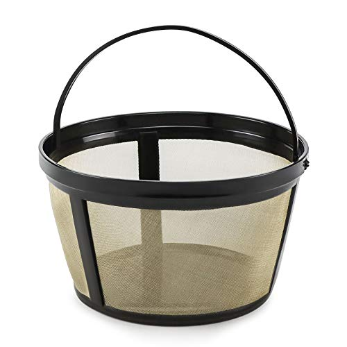 Reusable 8-12 Cup Basket Coffee Filter fits Mr. Cof.fee Makers and Br.ewers by TOMOON,-Permanent basket-style | BPA Free | dishwasher safe