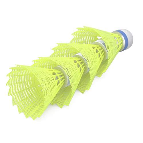 WINOMO LED Badminton Shuttlecocks Beleuchtung Birdies Federball für Indoor Outdoor Sports Aktivitäten 8 STÜCKE