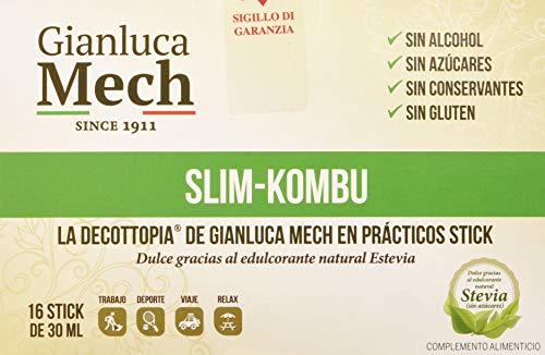 Decotopia Slim Kombu Con Stevia - 16 sticks