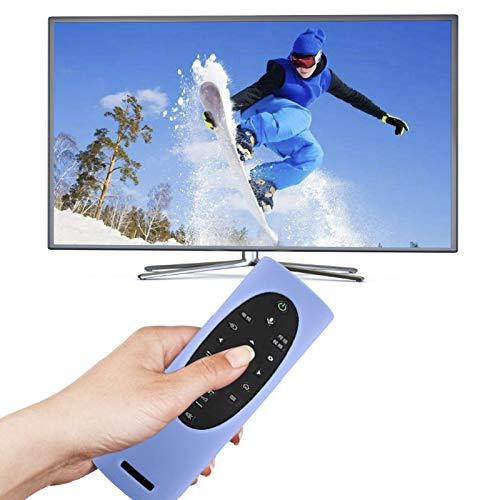 Banane Funda de silicona para Sony TX-700C / KD-85X8000H / 9000H TV, a prueba de golpes, hipoalergénica, antisuciedad, antideslizante, antipérdida, con correa remota