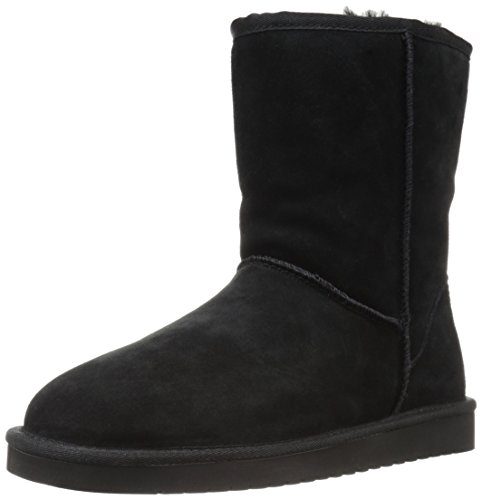 Koolaburra by UGG Women's koola Short Fashion Boot, Black, 06 M US