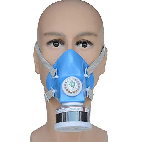 KEKE Gasmaske Staubmaske Mit Filter Gegen Gase Dämpfe Und Partikel Lackiermaske Respirator Für Heimwerker, Farbspritz, Pestizid Usw(10 Pack)