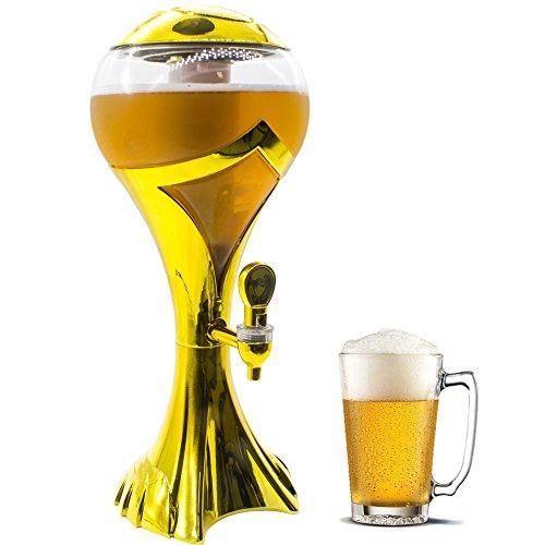 Torre Chopp Cerveja sempre gelada Resfriador Iluminado com Led GT147-G -Lorben