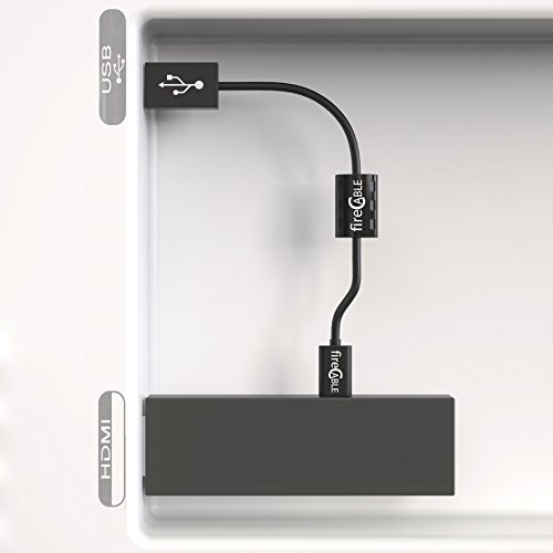 Wireless TV Powered USB Cord for Amazon Fire TV Stick by fireCable