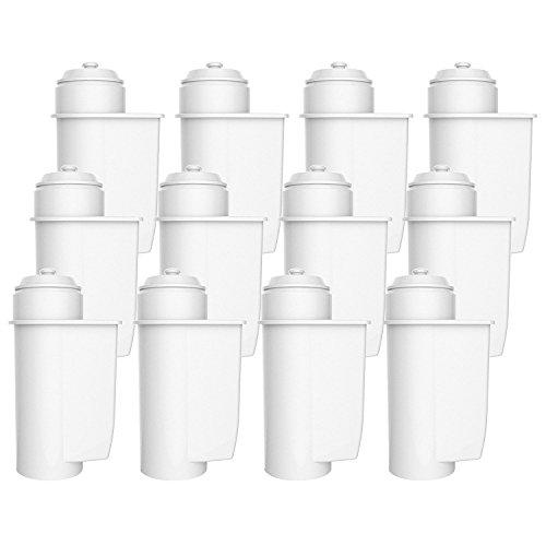 AquaCrest AQK-01 Compatibel koffiezetapparaat waterfilter vervanging voor Brita Intenza; Siemens TZ70033, TCZ7003, EQ. Serie; Bosch 12008246 - inclusief verschillende modellen van Neff & Gagnauwkeurig (12)