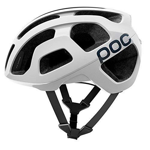POC Octal C, Casco per Ciclismo Unisex Adulto, Bianco (Hydrogen White), M/54-60cm