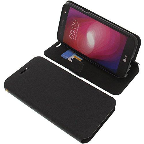 foto-kontor Tasche für LG X Power2 Book Style schwarz Schutz Hülle Buch
