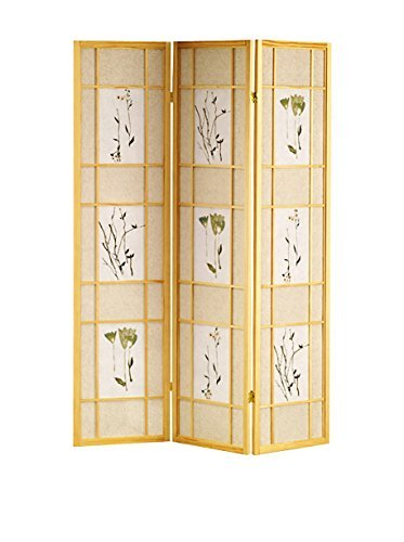 ORE Furniture International 3-Panel Shoji Screen, Natural by ORE Furniture