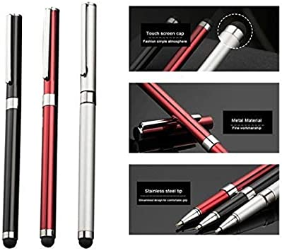 with Custom High Sensitivity Touch and Black Ink! 3 Pack-Black Tek Styz PRO Stylus Pen Works for Samsung Galaxy S8