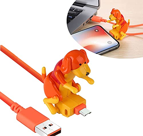 QIRU Stray Dog Charging Cable,Dog Toy Smartphone USB Cable C
