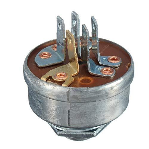 LiMePng Interruptor de Encendido del Tractor del cortacésped del césped con Las Llaves adecuadas para Husqvarna Roper Toro Noma Scag Tractor LiMePng
