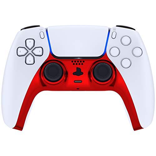 eXtremeRate Cover Scocca Striscia Decorativa Shell Ricambio per DualSense PS5 Controller Copertura...