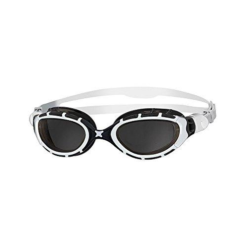 Zoggs Predator - Gafas de natación, color blanco / negro